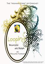 Crochet Looping Broomstick Hairpin Guide